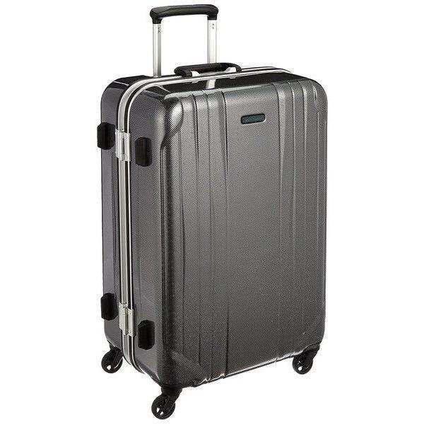 スーツケース 66L ワールドトラベラー(World Traveler) サグレス(SAGRES) ブラックカーボン 06062-02 [TSAロック搭載]