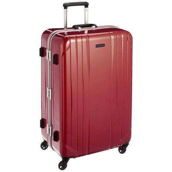 スーツケース 91L ワールドトラベラー(World Traveler) サグレス(SAGRES) レッド 06063-10 [TSAロック搭載]
