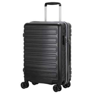 スーツケースハードジッパー LIM2127-48BK シボBK [32L]