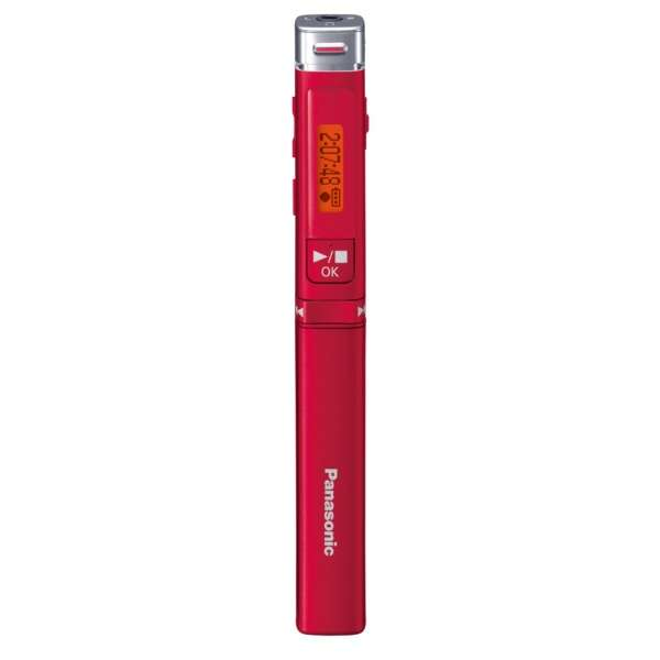 RR-XP009 ICレコーダー レッド [8GB]