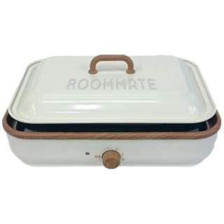 RM-65H-IV 温度調整機能付き2WAYホットプレート ROOMMATE(ルームメイト) [プレート2枚]