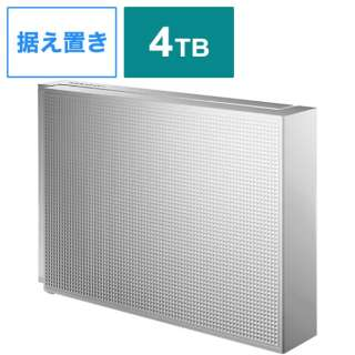 HDCZ-UT4WC 外付けHDD ホワイト [据え置き型 /4TB]