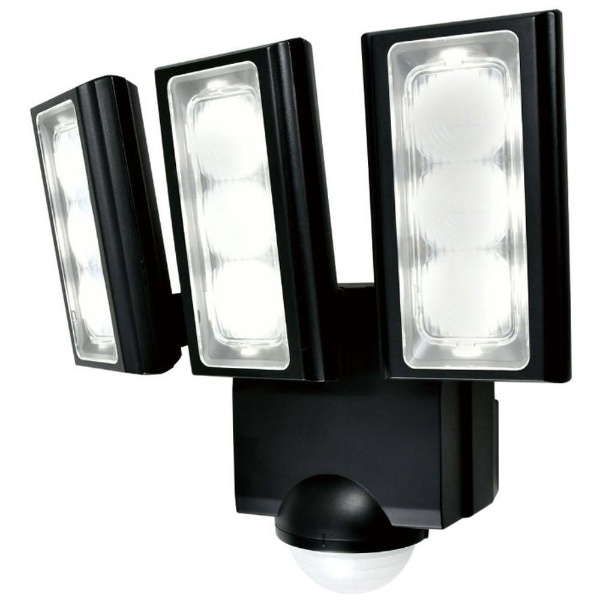 屋外用LEDセンサーライト 乾電池式 3灯 ESL-313DC [白色 /乾電池式]