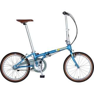 20型 折りたたみ自転車 Boardwalk i5(マットスモークブルー/内装5段変速)HAC052【2019年モデル】 【組立商品につき返品不可】