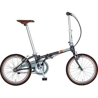 20型 折りたたみ自転車 Boardwalk i5(マットダークグレー/内装5段変速)HAC052【2019年モデル】 【組立商品につき返品不可】