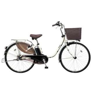 26型 電動アシスト自転車 ビビ・DX(オフホワイト/内装3段変速)BE-ELD635F2【2019年モデル】 【組立商品につき返品不可】