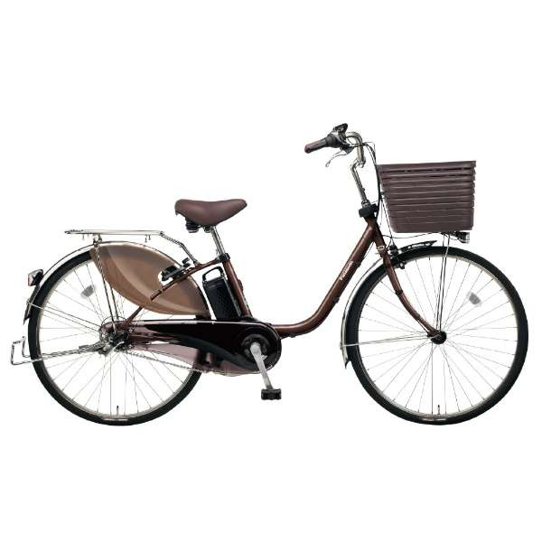 26型 電動アシスト自転車 ビビ・DX(ビターブラウン/内装3段変速)BE-ELD635T2【2019年モデル】 【組立商品につき返品不可】
