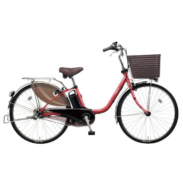 26型 電動アシスト自転車 ビビ・DX(レッドジンジャ/内装3段変速)BE-ELD635R2【2019年モデル】 【組立商品につき返品不可】