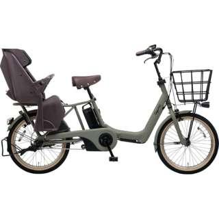 20型 電動アシスト自転車 ギュット・アニーズ・SX(マットオリーブ/内装3段変速)BE-ELAS03G【2019年モデル】 【組立商品につき返品不可】