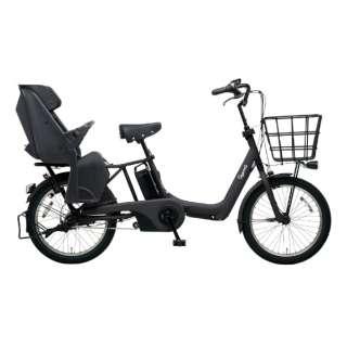 20型 電動アシスト自転車 ギュット・アニーズ・DX(マットジェットブラック/内装3段変速)BE-ELAD03B【2019年モデル】 【組立商品につき返品不可】