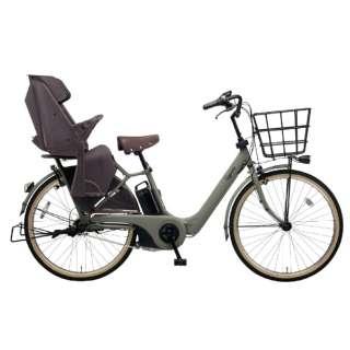 26型 電動アシスト自転車 ギュット・アニーズ・DX・26(マットオリーブ/内装3段変速)BE-ELAD63G【2019年モデル】 【組立商品につき返品不可】