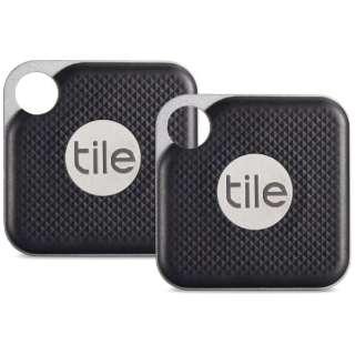 Tile Pro Black (電池交換版) 2個パック RT-15002-AP