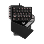 AS-K2 ゲーミングキーボード 片手用 ブラック [USB /有線]