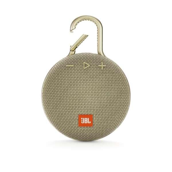 ブルートゥーススピーカー JBLCLIP3SAND サンド [Bluetooth対応 /防水]