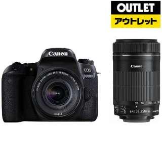 【アウトレット品】 EOS 9000D デジタル一眼レフカメラ [ズームレンズ+ズームレンズ] 【展示品】