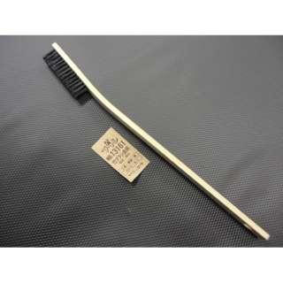 #13161 竹ブラシ曲り柄 豚毛