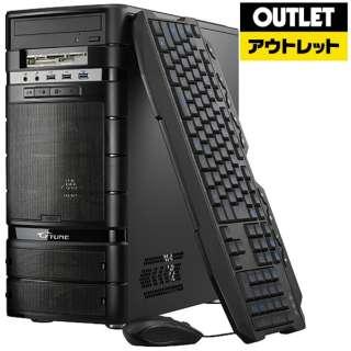 【アウトレット品】 ゲーミングデスクトップPC[Corei5・SSD 240GB・HDD 3TB・メモリ8GB・GTX1060] NMK5081SHG6ZC 【数量限定品】