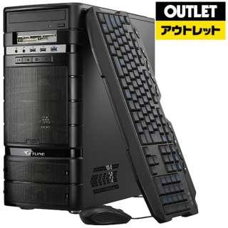 【アウトレット品】 ゲーミングデスクトップPC[Win10 Home・AMD RYZEN 7・SSD 240GB・HDD 3TB・メモリ8GB・GTX1060] NGR717XM1S2H3X16D 【数量限定品】