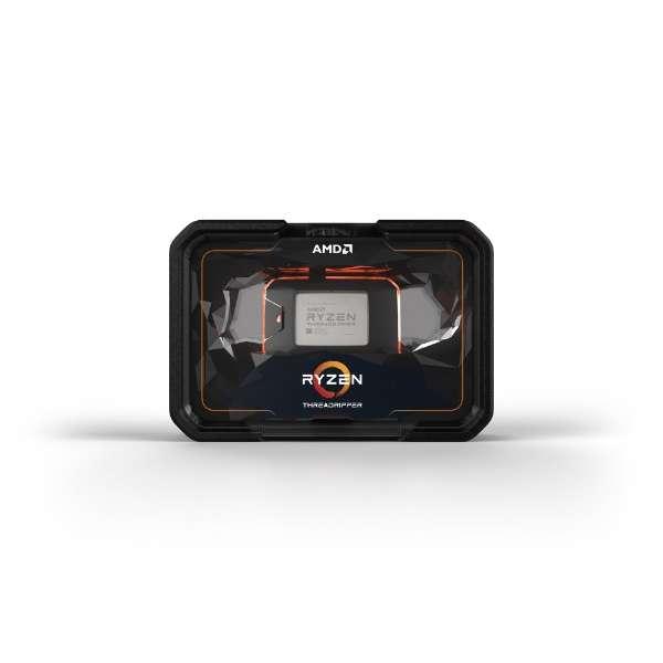 〔CPU〕 AMD Ryzen Threadripper2 2970WX BOX(C24/T48、TDP250W、TR4)W/O CPU Cooler YD297XAZAFWOF