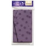 マルアイ 金封ふくさ 桜柄 紫