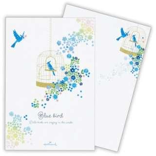 葉書箋青い鳥