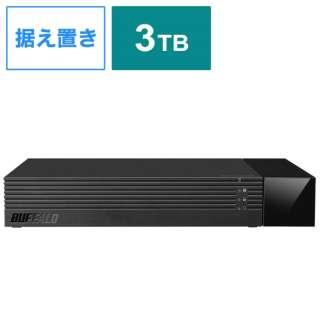 HDV-SAM3.0U3-BKA 外付けHDD ブラック [据え置き型 /3TB]