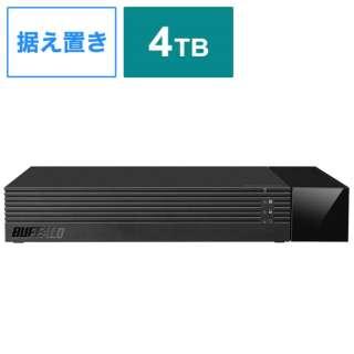 HDV-SAM4.0U3-BKA 外付けHDD ブラック [据え置き型 /4TB]