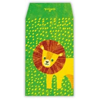 ポチ袋ライオン EME-711-665
