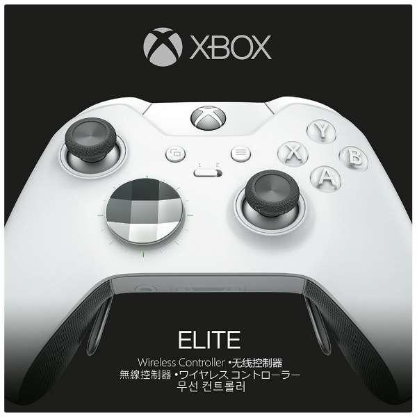 Xbox One Elite ワイヤレスコントローラー ホワイト スペシャル エディション HM3-00013 【Xbox One】