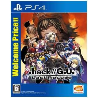 .hack//G.U. Last Recode Welcome Price!! PLJS-36095 [PS4] 【PS4】