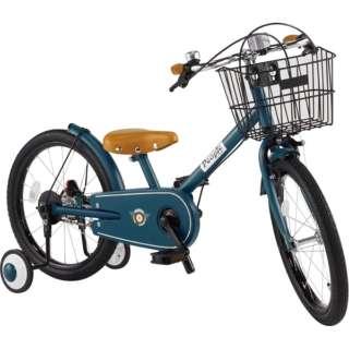 18型 子供用自転車 共伸びサイクル(ディープターコイズ) YGA316【2019年モデル】 【組立商品につき返品不可】