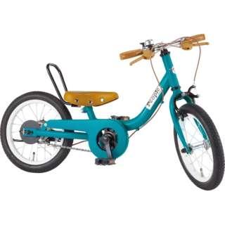 14型 子供用自転車 ケッターサイクル(ブルーミングターコイズ) YGA312【2019年モデル】 【組立商品につき返品不可】