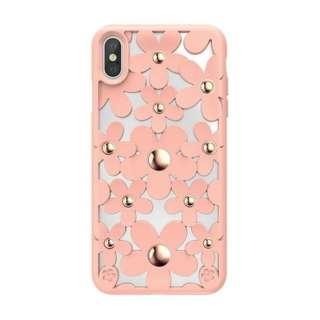 iPhone XS Max対応 Fleur SEI9LCSDLFLPK Pink