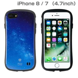 iPhone SE(第2世代)4.7インチ/ iPhone 8/7専用 iFace First Class Universeケース(milky way/ミルキーウェイ) 41-886113