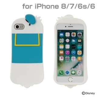 iPhone SE(第2世代)4.7インチ/ iPhone 8/7/6s/6専用 ディズニーキャラクター/シリコンケース(ドナルドダック) 276-895429