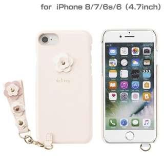 iPhone SE(第2世代)4.7インチ/ iPhone 8/7/6s/6専用 salisty(サリスティ)P フラワースタッズ ハードケース(ベビーピンク)P-HC002C 276-895603