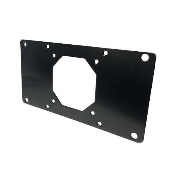 VESA規格変換プレート [75/100×75/100→100×200mm] NB-VS1020-M6 ブラック