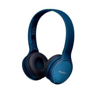 ブルートゥースヘッドホン ブルー RP-HF410B-A [リモコン・マイク対応 /ワイヤレス]