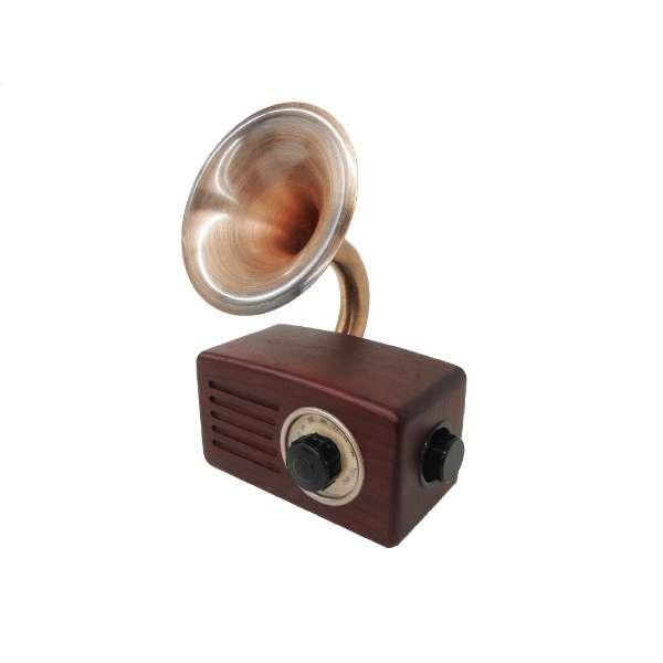 SB-FH20 ブルートゥース スピーカー ブラウンウッド [Bluetooth対応]