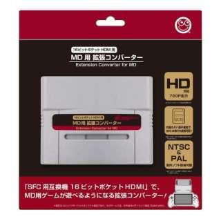 MD用拡張コンバーター(16ビットポケットHDMI/SFC用) CC-16PHM-GR
