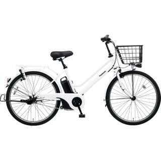 26型 電動アシスト自転車 ティモ・S(アクティブホワイト/内装3段変速)BE-ELST364【2019年モデル】 【組立商品につき返品不可】