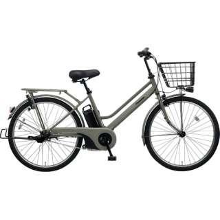 26型 電動アシスト自転車 ティモ・S(マットオリーブ/内装3段変速)BE-ELST364【2019年モデル】 【組立商品につき返品不可】
