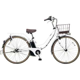 26型 電動アシスト自転車 ティモ・I(ホワイトパールクリア/内装3段変速)BE-ELTA632【2019年モデル】 【組立商品につき返品不可】