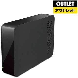 【アウトレット品】 外付ハードディスク[1TB・据え置き型・USB3.1・Mac/Win] HD-LCU3シリーズ HD-LC1.0U3-BKF ブラック 【生産完了品】