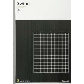 [ノート] スイングスタンダードノート (A4 /40枚 /方眼罫 5mm) ノ-A401S