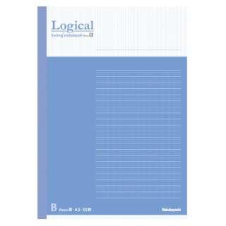 [ノート] スイング・ロジカルノート (A5 /30枚 /ロジカル B罫 6mm 30行) COCノA501B ブルー