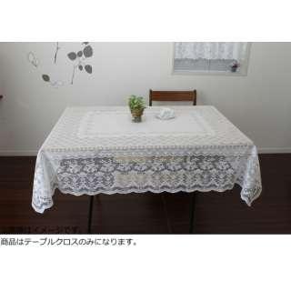 撥水加工テーブルクロス(140×140cm/オフホワイト)