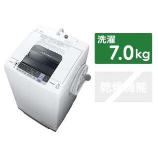 NW-70C-W 全自動洗濯機 白い約束 ピュアホワイト [洗濯7.0kg /乾燥機能無 /上開き]