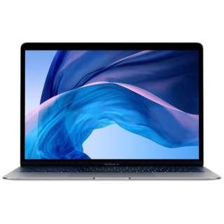 MacBook Air 13インチRetinaディスプレイ [2018年 /SSD 256GB /メモリ 8GB /1.6GHzデュアルコアIntel Core i5] スペースグレイ MRE92J/A