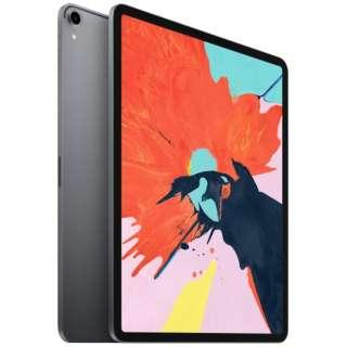 iPad Pro 12.9インチ Liquid Retinaディスプレイ Wi-Fiモデル 512GB - スペースグレイ MTFP2J/A 2018年モデル スペースグレイ [512GB]